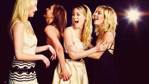 Whitney, Audrina, Lauren, & Heidi