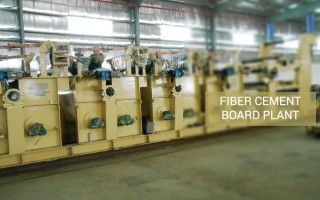 Plant & Machinery to produce fiber cement board!!! Click link for details, http://intraautomation.com/fiber-cement-boards/