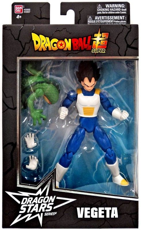 Dragon Ball Super Dragon Stars Series 1 Vegeta Action Figure
