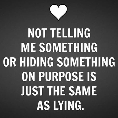 Lying by omission: Leaving important information out to foster a misconception of the scenario.