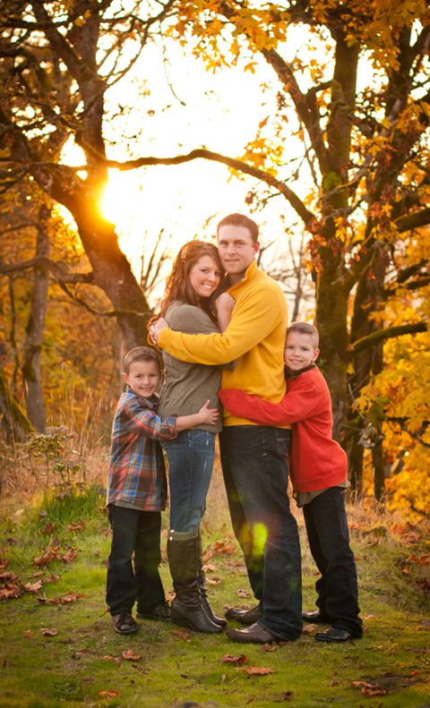 Fall Family Photo by RobinWood Photography                                                                                                                                                                                 More