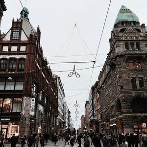 Главная улица Хельсинки