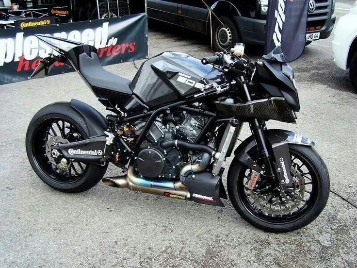 KTM RC8 Necked