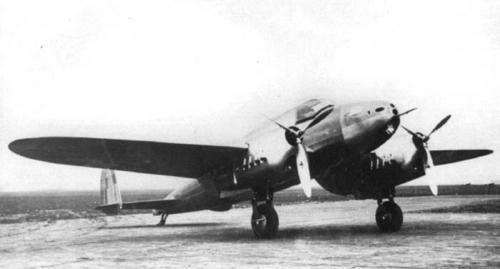PZL 38 Wilk Polish reconnaissance plane, light bomber, dive bomber (?), not ready for the war.