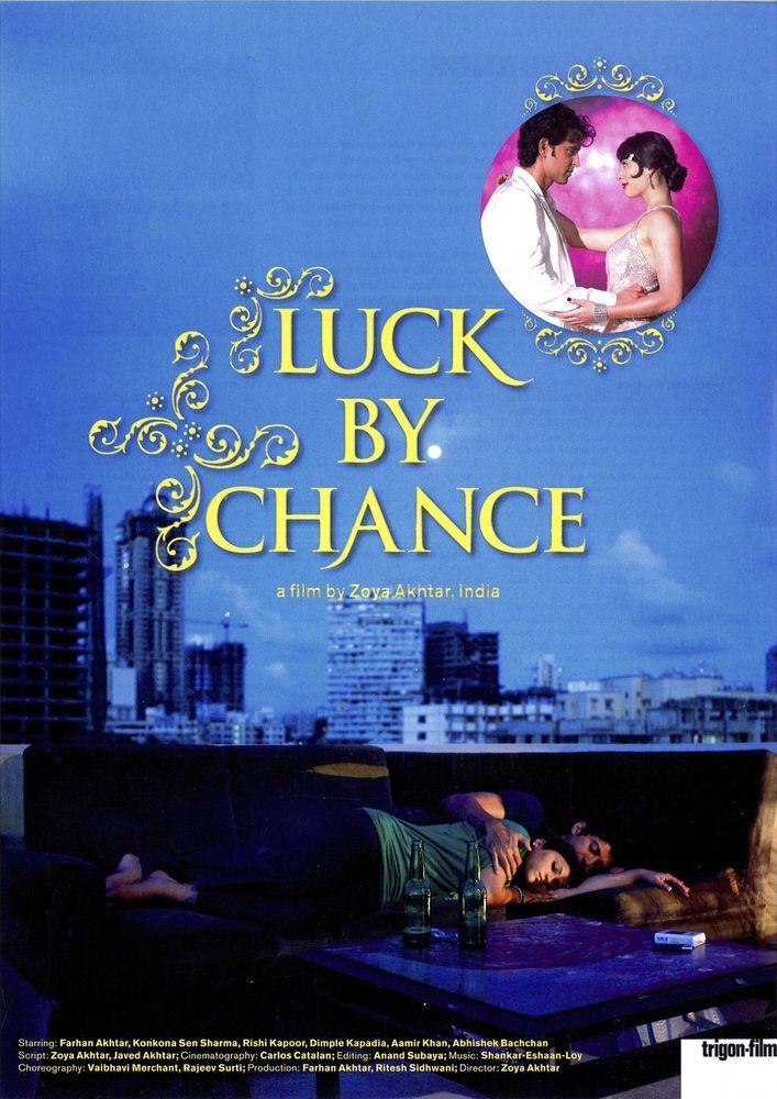 LUCK BY CHANCE - 2009 - ZOYA AKHTAR - FILMPOSTER A4