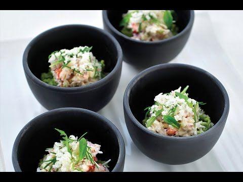 Recept voor krab met avocado en platte kaas | njam!