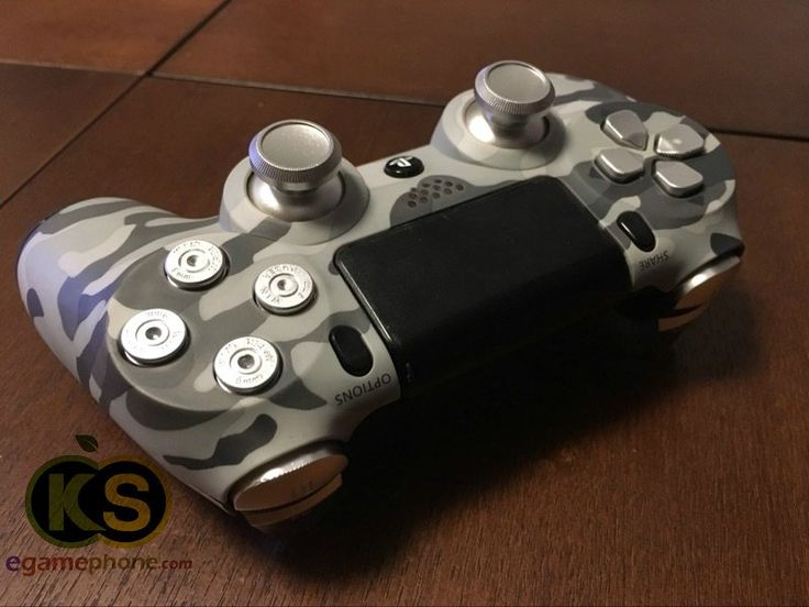 PS4 Aluminum Metal Bullet Button Thumbsticks Custom 7 Piece
