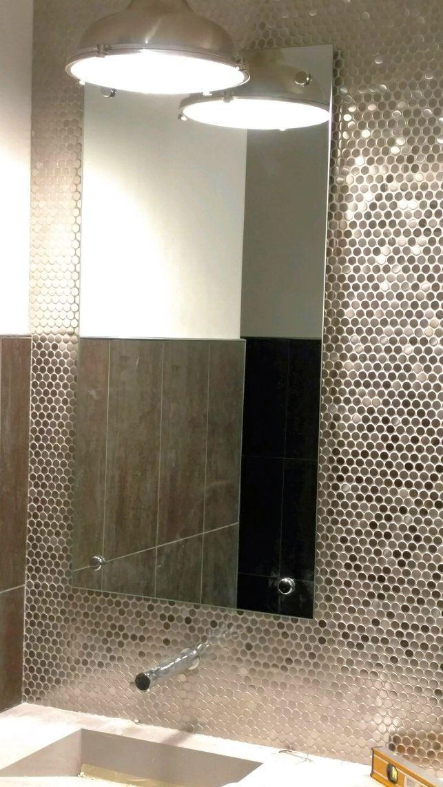 Standoff Mirror Custom Shower Doors Mirror Shower Doors