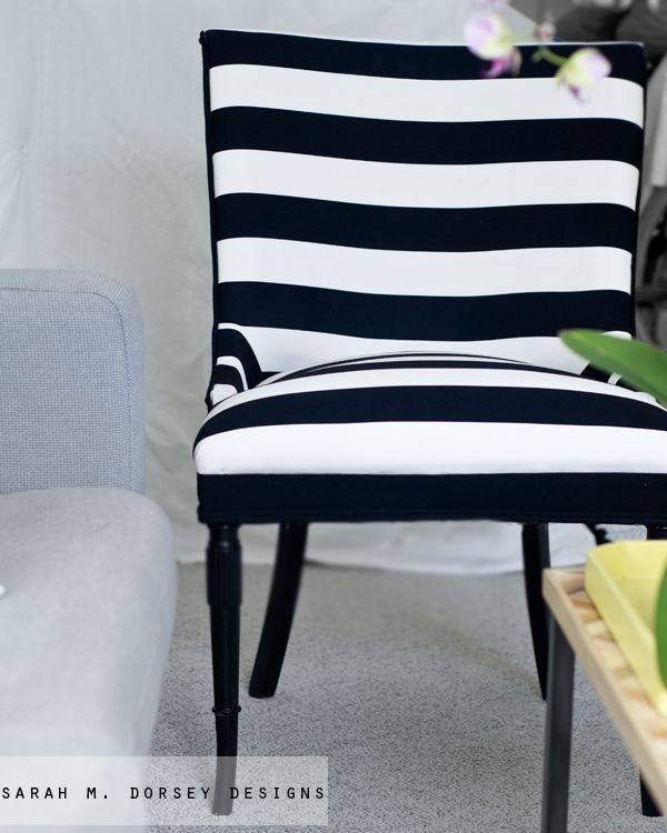 25 best ideas about black and white chair on pinterest striped chair black and white. Black Bedroom Furniture Sets. Home Design Ideas