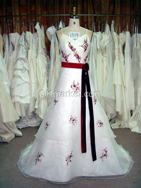real wedding dress from our show room