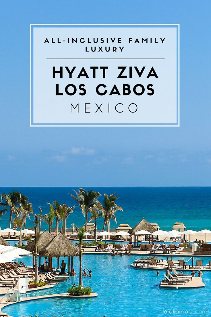 A review of what it's like to stay at all-inclusive Hyatt Ziva Los Cabos in Mexico. #hyattallin