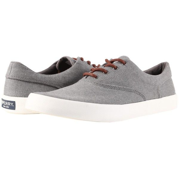 Sperry Wahoo CVO Multi-Knit (Grey) Men's Shoes (17 KWD) ❤ liked on Polyvore featuring men's fashion, men's shoes, mens summer shoes, mens lightweight running shoes, mens grey shoes, sperry mens shoes and mens gray dress shoes