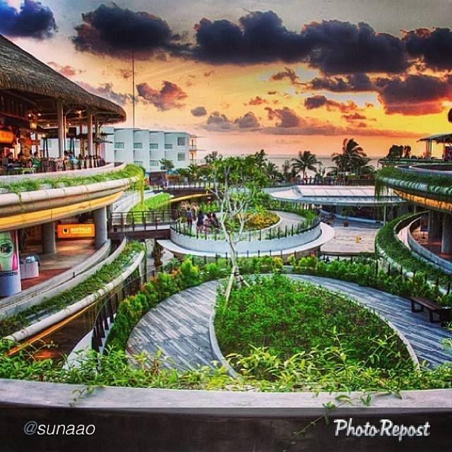 Shopping centre Beachwalk,  Kuta - Bali Indonesia