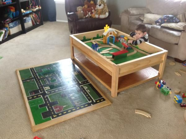 64 Best Diy Train Tables Images On Pinterest Train Table