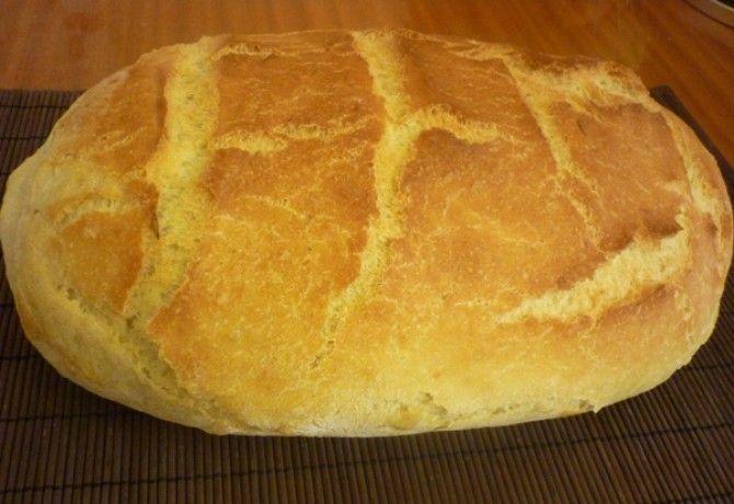 Ropogós héjú burgonyás kenyér