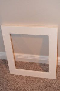 How to make a great picture frame from a 2x4, this was a great project, it was simple and very inexpensive.