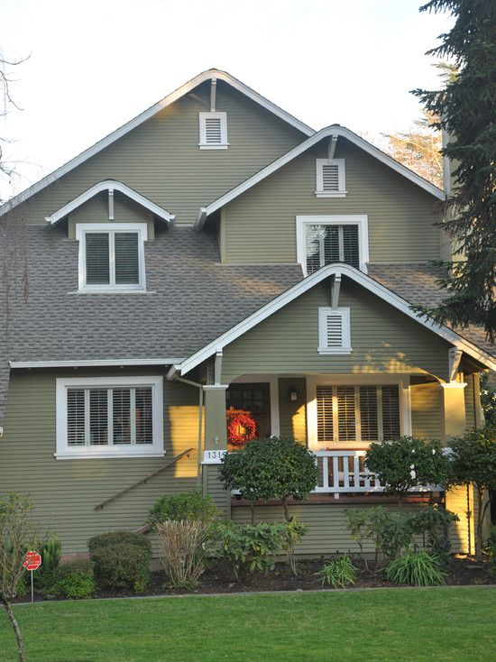 10 best green exterior house colors images on pinterest on exterior house paint colors schemes id=83118