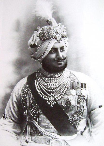 Maharaja Bhupendra Singh of Patiala. 1911