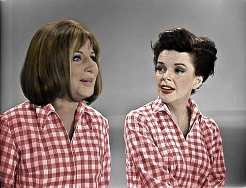 Barbra with Judy Garland 1963
