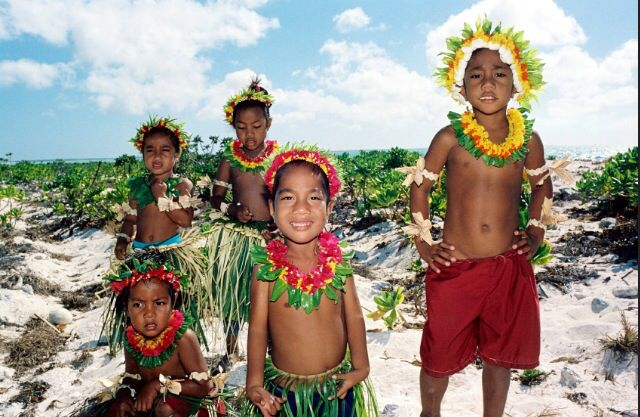 Resultat d'imatges de polynesian children