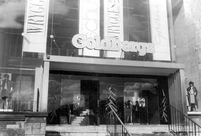 1987: Goldbergs Department Store, Tollcross, Edinburgh.