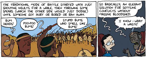 Shaka Zulu - The Phoenix. Adam Murphy - Comics