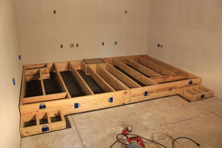 1242da4978fa41fa772ac2841854e6c1  X Width Home Theater Riser Plans on