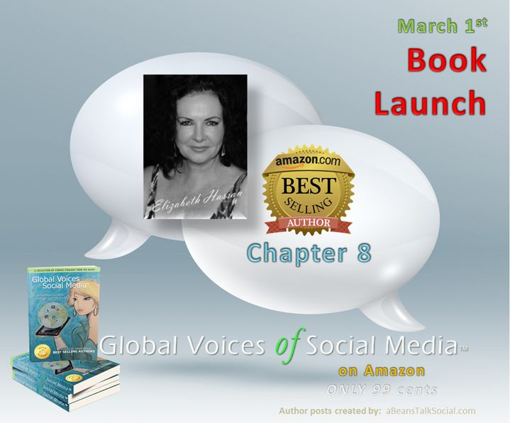 Elizabeth Hassan is an angel on this planet. Pick up your digital copy of Global Voices of Social Media ™ and turn to Chapter 8, 'Caring for Sarah'. Her story speaks to all #women #caretakers we honor on #WomensInternationalMonth.