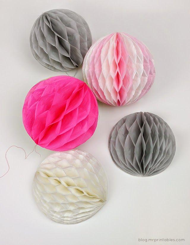 Imagenes fantasia y color como hacer pompones de papel - Como hacer pompones ...