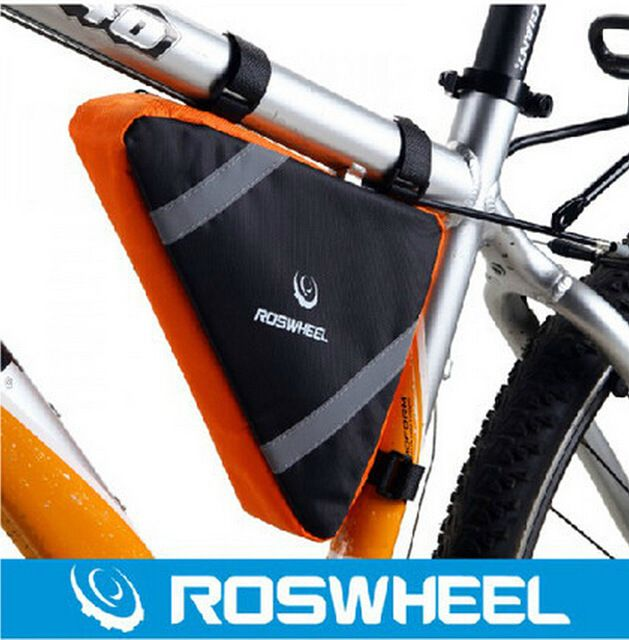 ROSWHEEL Bicycle Tube Package Tripod Cycling Tools Kit Bag Bike Triangle Pouch