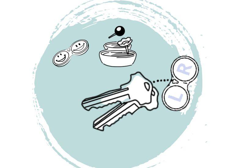 Upcycling-Ideen für Kontaktlinsenbehälter