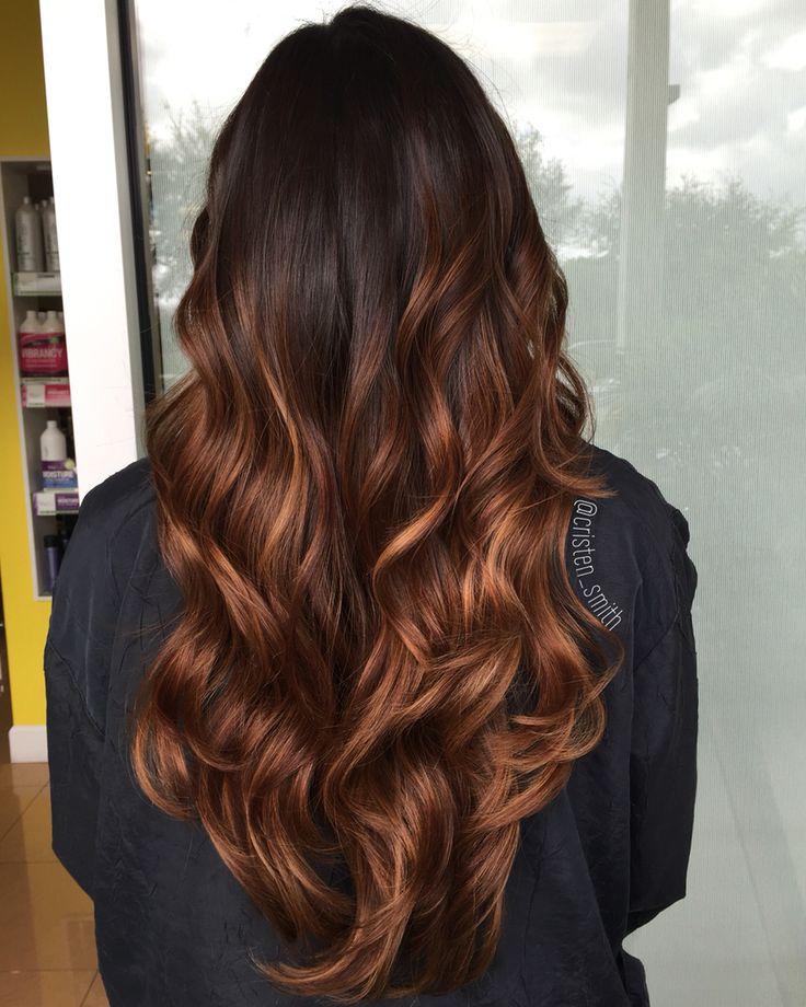Caramel hazelnut ombre #ombre #hairstylist