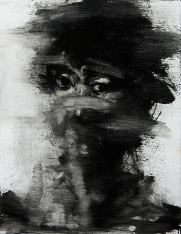 [39] untitled oil on canvas 35.5 x 27.5 cm 2013-KwangHo Shin
