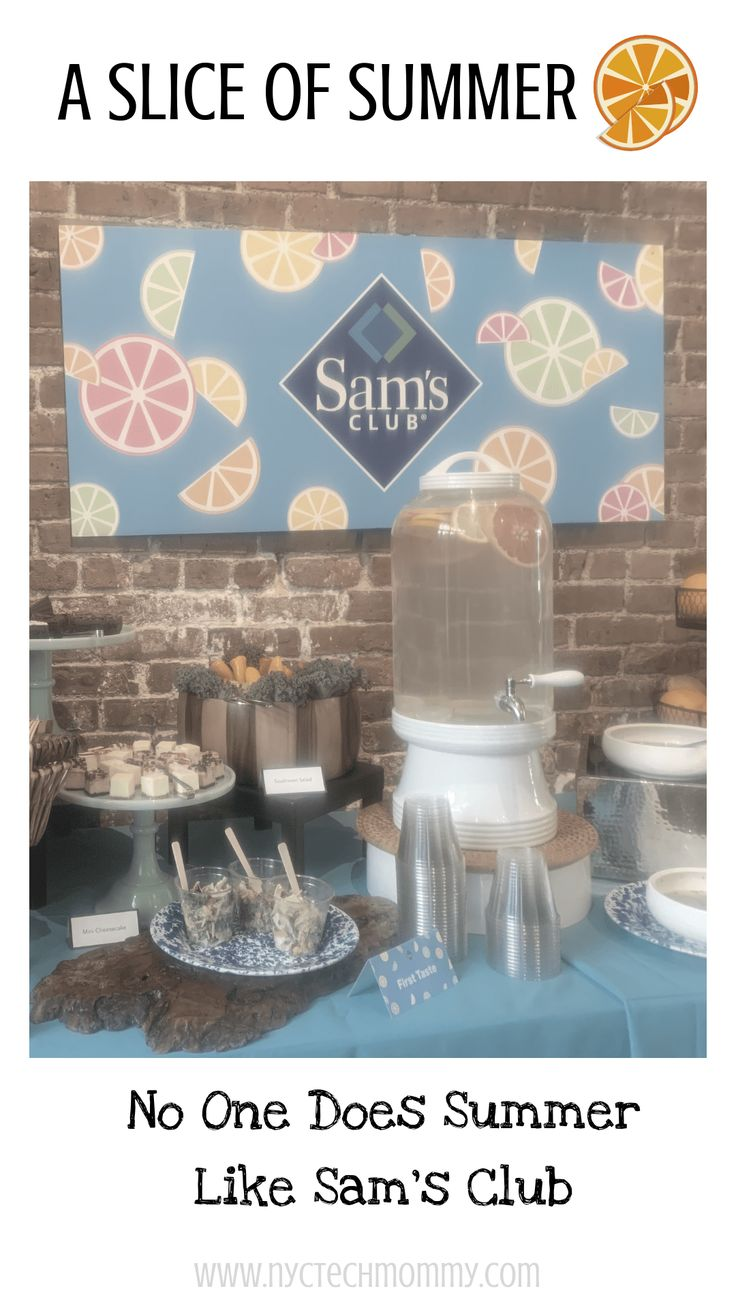 A Slice of Summer: No One Does Summer Like Sam's Club