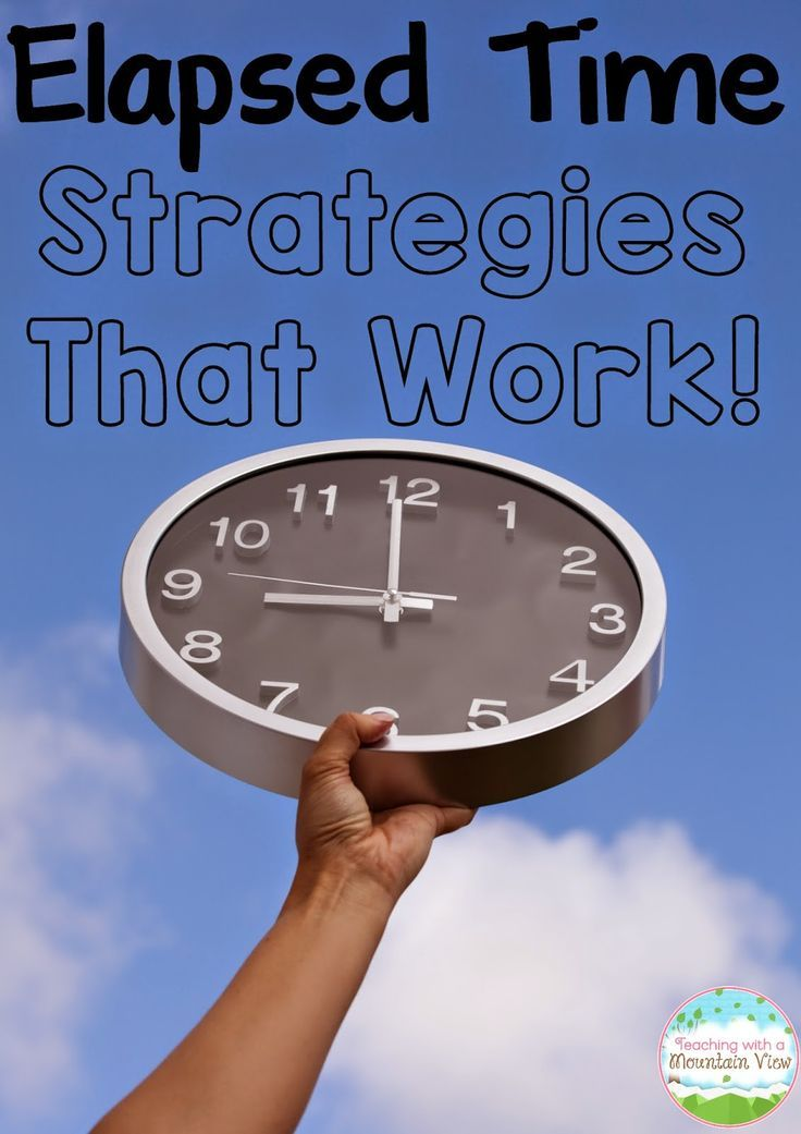 Elapsed Time Strategies that WORK! Strategies to teach your students to be successful at solving all types of elapsed time problems.