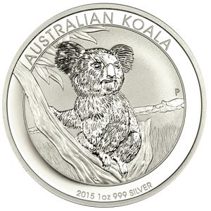 2015 Australian Silver Koala - 1 oz. Austin Rare Coins has the 2015 Australian Silver Koala coins available for pre-ordering. Minted at the highly esteemed Perth Mint in Australia.