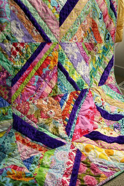 Carnival String Quilt