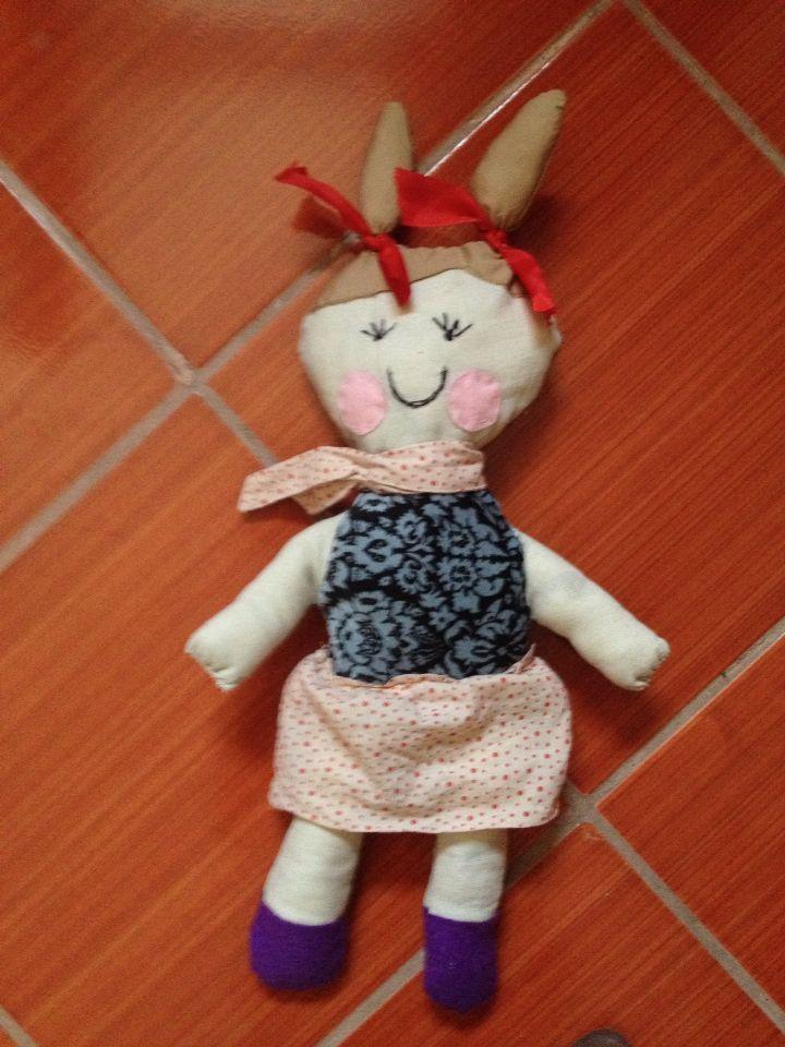 Homemade puppet