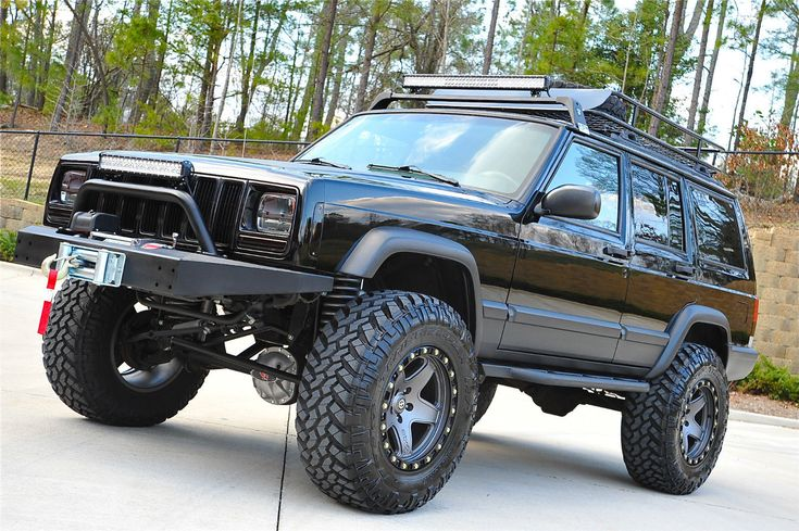Cherokee XJ Sport Lifted Nicest in Country Fully Built Stage 4 Package | eBay