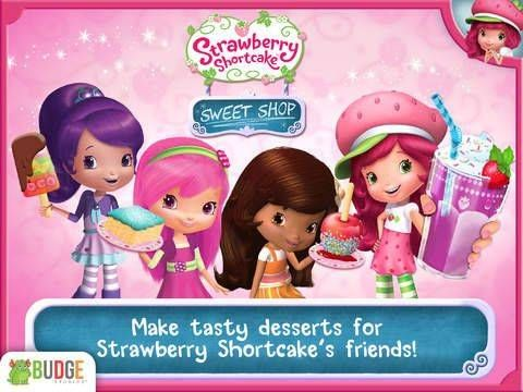 New app for kids - Strawberry Shortcake Sweet Shop – Candy Maker for iPhone & iPad (free + in app purchases) http://www.appysmarts.com/application/strawberry-shortcake-sweet-shop-candy-maker,id_103901.php