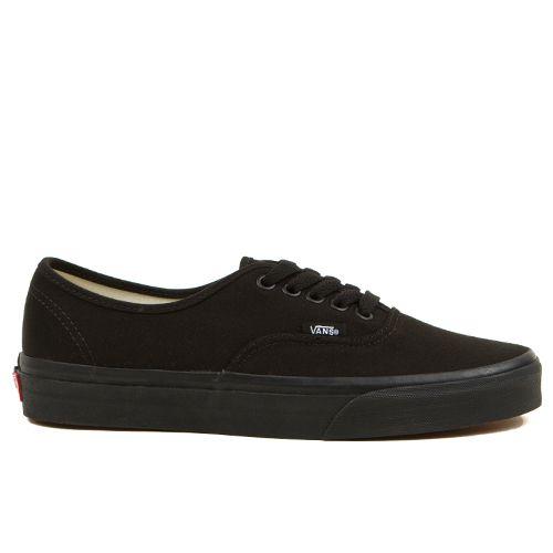 Vans Classics Authentic Black/Black Mens Shoes