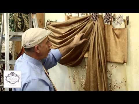 Do It Yourself Drapes   Window Treatment Ideas With Swags, Scrolls and Holdbacks   DIY Drapery   Curtains and Drapes Los Angeles   Galaxy Design