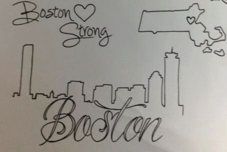 People Get Boston-Themed Tattoos in Wake of Attack