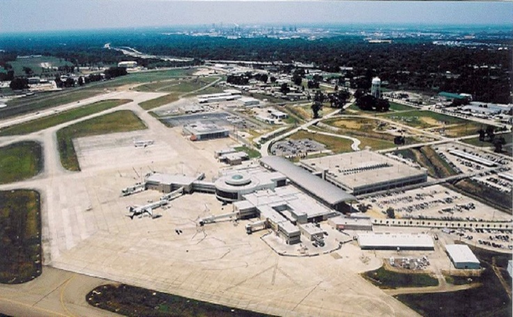 Aerial View of the Baton Rouge Airport