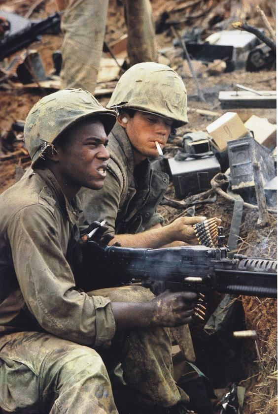 M60 machinegun operators.