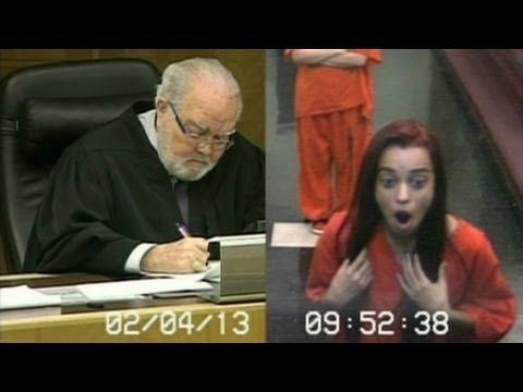 Judge flips out after getting flipped off..I couldn't help but laugh after the reaction!!