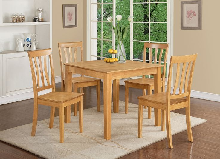 The 25 Best Oak Table And Chairs Ideas On Pinterest Refinished Modern Rustic Dining Refurbished Tables