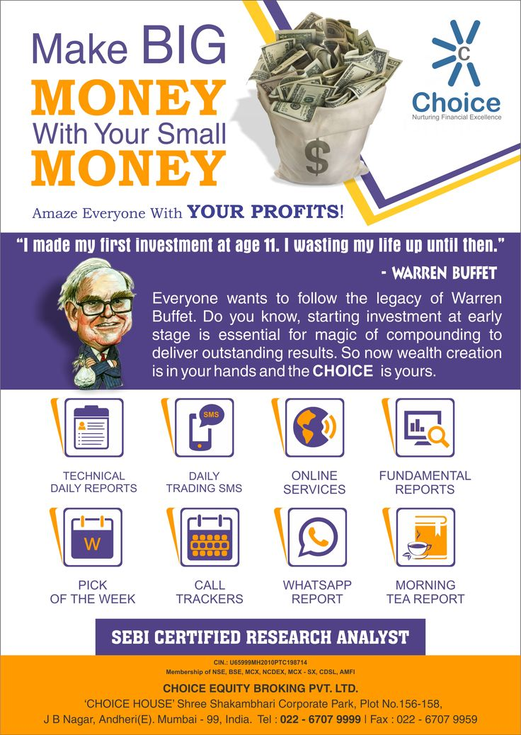 Invest in #ShareMarket with #ChoiceBroking  www.choiceindia.com