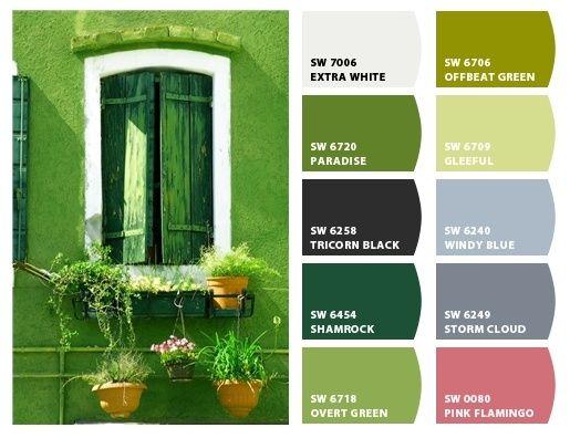 La ventana verde