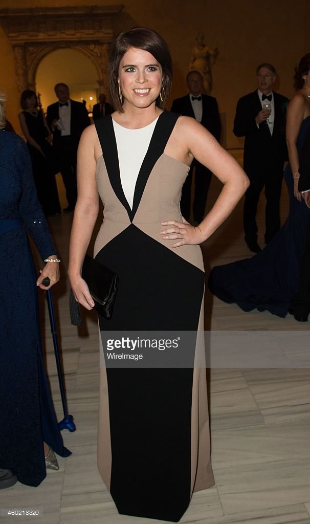 Princess Eugenie of York attends the St. Andrews 600th Anniversary Dinner on December 9, 2014 in New York City.